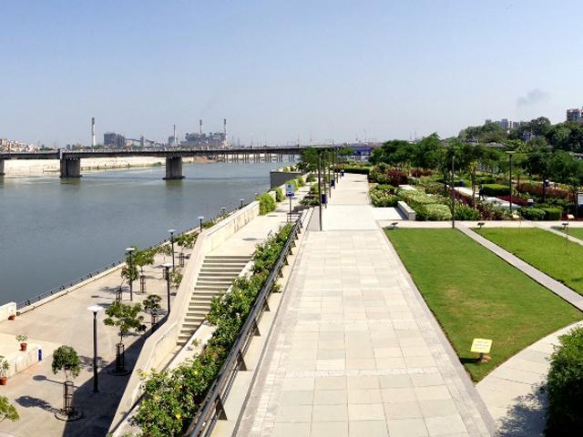 Sabarmati Riverfront Project in Ahmedabad