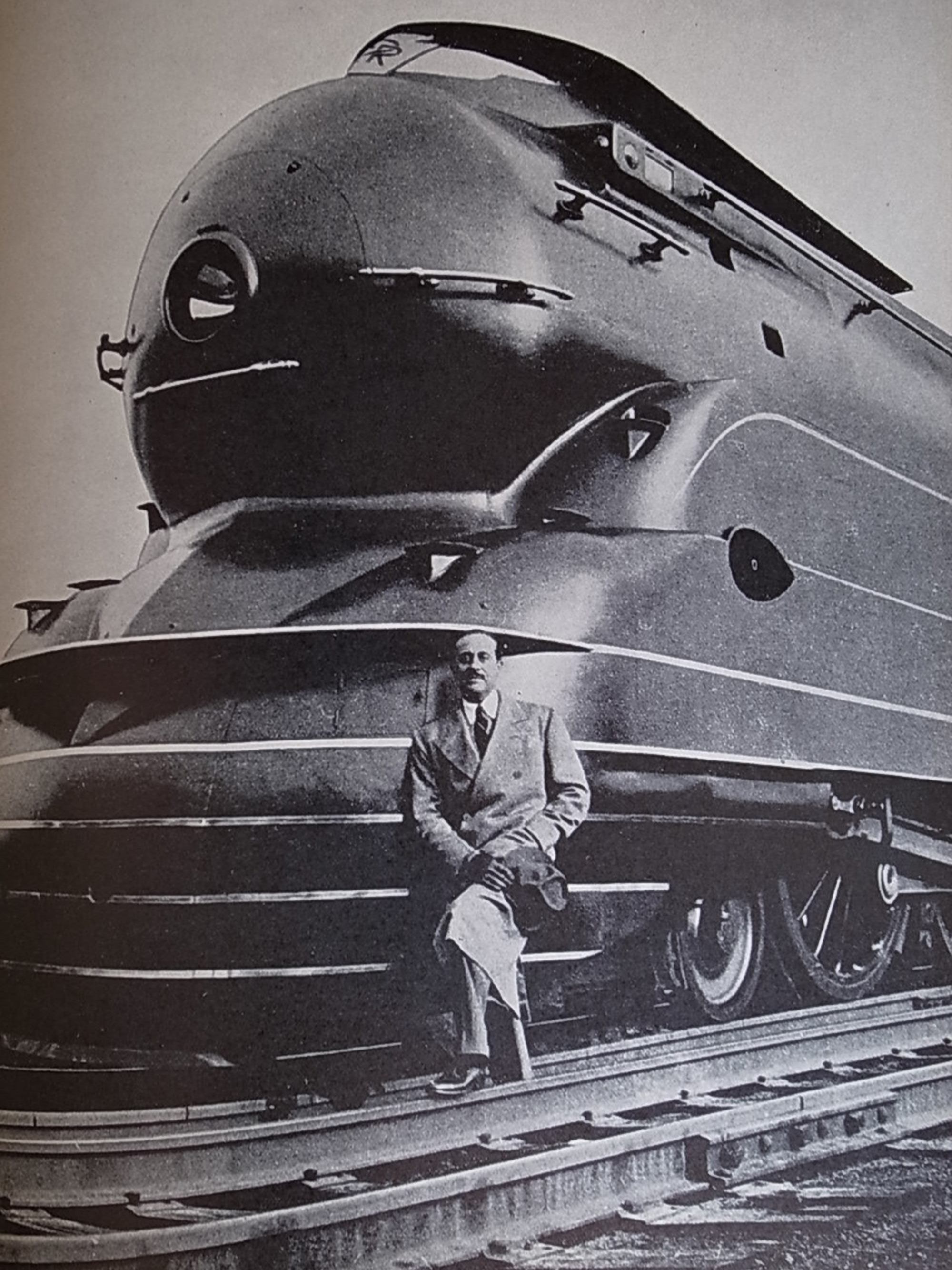 Loewy on the S-1 steam locomotive
