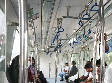Metro coach interiors