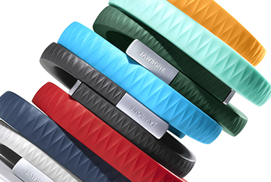 Wearable tech in different colours