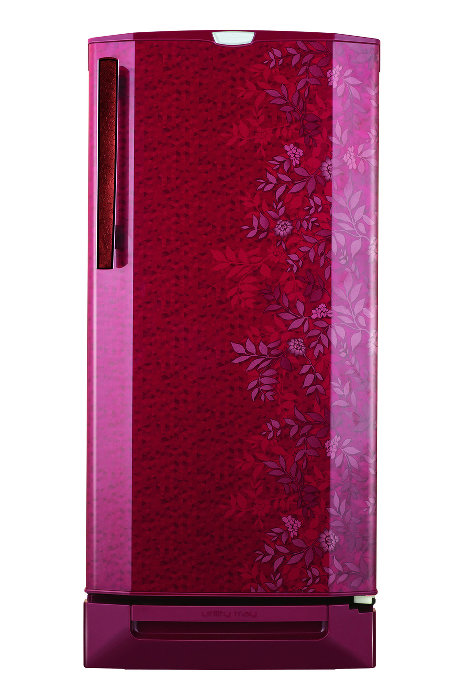 Decorative refrigerator in pink