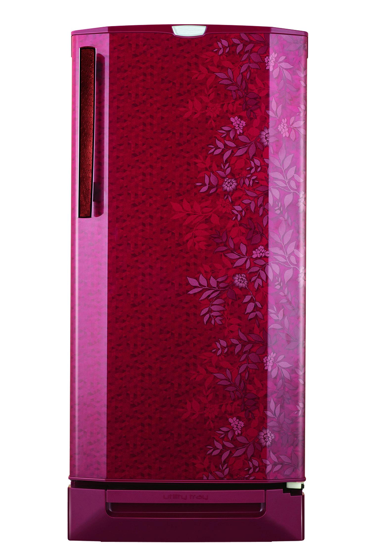 Decorative refrigerator in pink